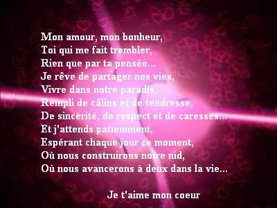Love Quotes For Husband Beau Poeme Damour Pour Mon Homme