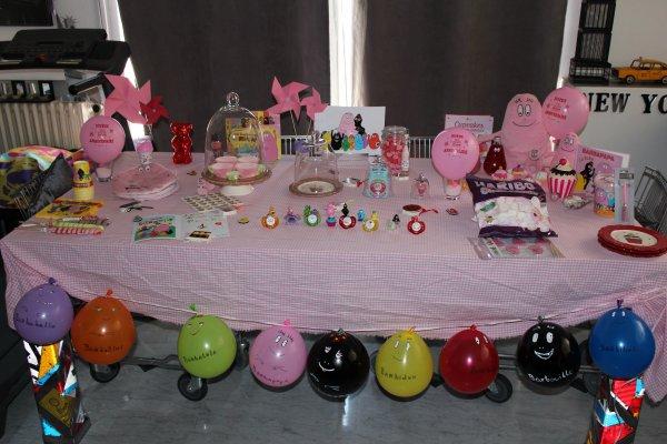 Anniversaire barbapapa blog id es d co - Decoration anniversaire barbapapa ...